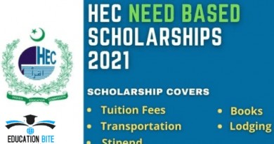 HEC USAID Scholarship 2021, educationbite.com