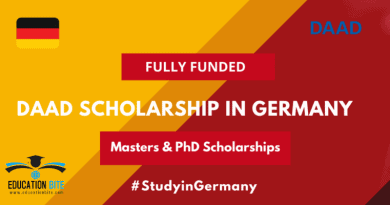 DAAD Fully-Funded Scholarships 2022 in Germany, educationbite.com