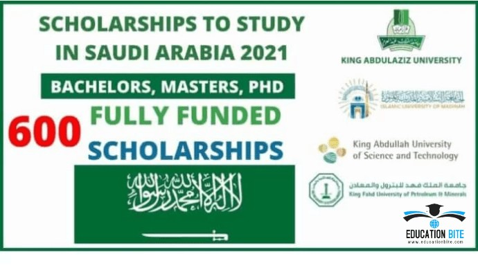 600 Fully-Funded Scholarship in Saudi Arabia for Pakistani Students, educationbite.com
