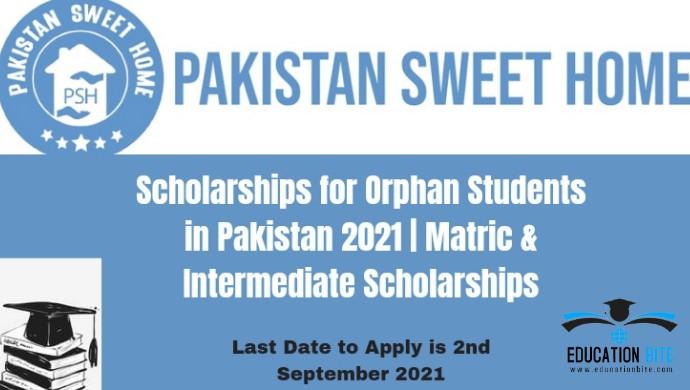 Pakistan Sweet Home Cadet College Scholarships for Orphans, educationbite.com