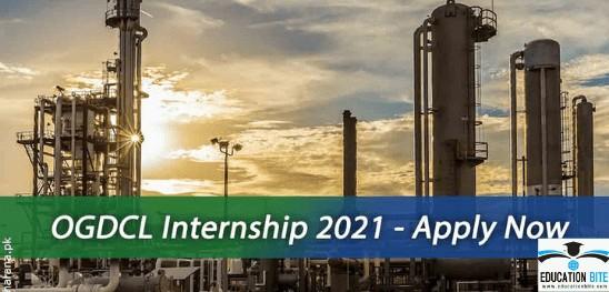 OGDCL internship programs 2021
