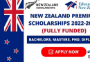 New Zealand Fully-Funded Scholarships 2021, educationbite.com